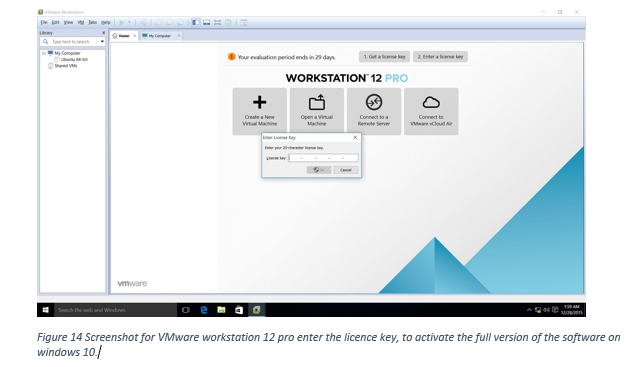 licence key for vmware workstation 12