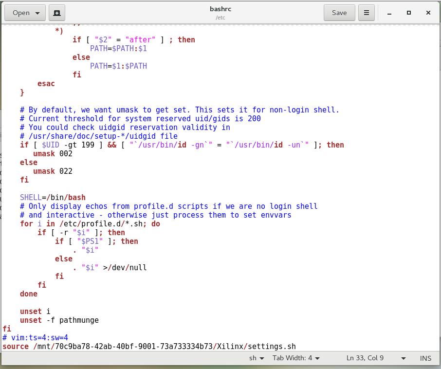 Petalinux Installation Procedure for CentOS on VMWare